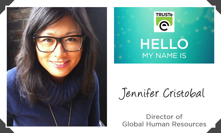 Meet Jennifer Cristobal, Director of Global Human Resources.