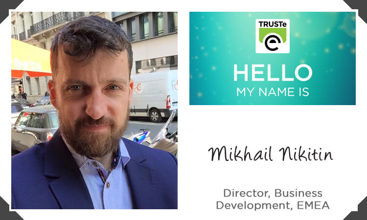 Meet Mikhail Nikitin, Director of Business Development, EMEA.